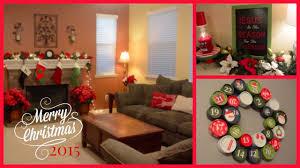 Youtube Home Decor by 2015 Christmas Home Decor Tour Youtube