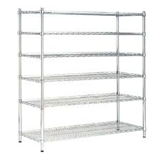 Home Depot Plastic Shelving by 6 Shelf 33 In W X 72 H Angle Iron Shelves Dixon Home Depot