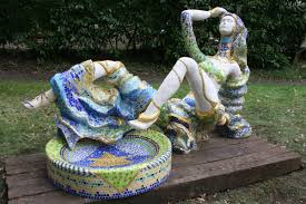 Buy Lady with Air by Francony Kowalski from The Sculpture Park.com ... - francony_kowalski_born_france_1959_lady_with_air_re-inforced_cement_fondue_ceramic_glass_unique_239_cms_long_by_139_cms_wide_8_000_-_10_000