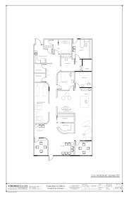 example floor plan with closed adjusting rooms open rehab rooms