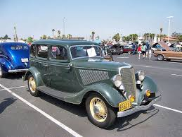 1934 Ford Fordor Deluxe