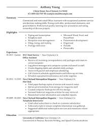 strong words for resumes 16 amazing admin resume examples livecareer