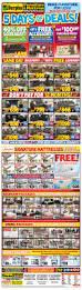 surplus furniture u0026 mattress warehouse kitchener flyer may 23 to 29