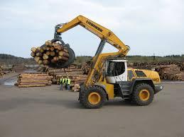 liebherr l580 log handler heavy equipment pinterest logs