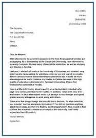 Job Letter Sample Doc