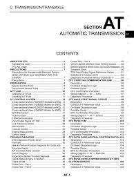 nissan navara workshop manual automatic transmission clutch