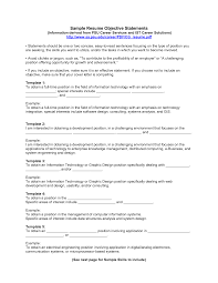 Writing A Summary For Resume Good Resume Objectives Samples 22 Sample Of Objective In Put