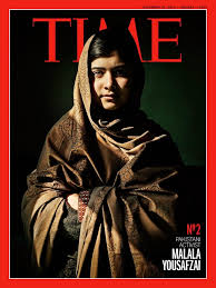 Pakistani teen blogger Malala Yousafzai is Time's runner-up for