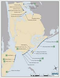 Brooklyn New York Map by New York City Long Island Beach Public Guide From