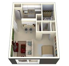 Studio Apartment Floor Plans - Apartment house plans designs
