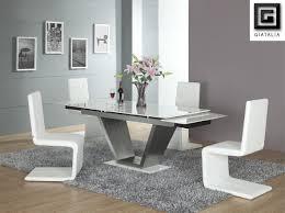 download white contemporary dining room sets gen4congress com