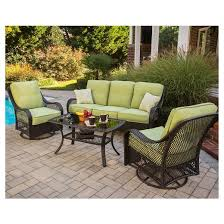 Wicker Outdoor Furniture Sets by Orleans 4 Piece Wicker Patio Conversation Furniture Set Target