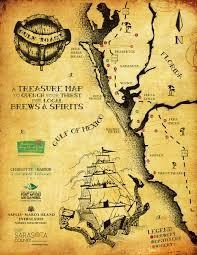 Map Florida Gulf Coast by Gulf