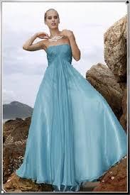 Blue Summer Wedding Drresses
