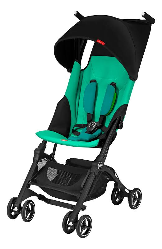 Gb 618000797 Pockit Record Collapsible Folding Infant Stroller, Laguna Blue