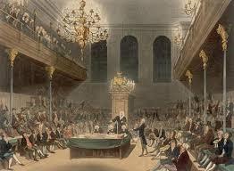 Oliviero cromwell in Parlamento