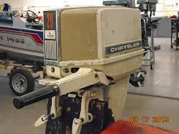 need help identifying year and model of 20 hp chrysler outboard