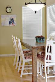 Farm Dining Room Table Farmhouse Dining Room Table And Chairs Sew Much Ado