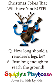 christmas jokes and riddles at squigly u0027s playhouse