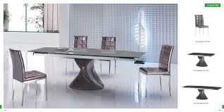 easy contemporary dining room table and chairs for your interior