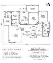 one story floor plans 3 bedrooms