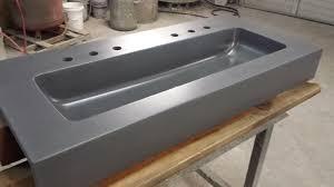 bed u0026 bath trough bathroom sinks trough sink vanity
