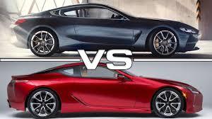 lexus coupe lc 500 2018 bmw 8 series vs 2018 lexus lc 500 luxury coupe interior