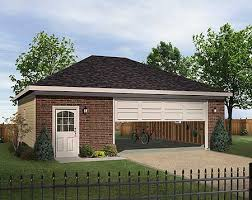 Hip Roof Ranch House Plans Plan 22056sl Hip Roofed Drive Thru Garage Garage Plans