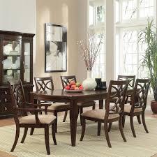 Overstock Dining Room Chairs by Homesullivan Hampton 7 Piece Espresso Dining Set 402546 96 7pc