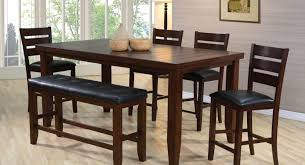 dining tables bar height dining table 9 piece square dining set