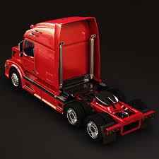 volvo truck models volvo vnl670 trailer truck 3d model in truck 3dexport