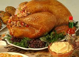 Stuffed Thanksgiving Turkey Tabasco Recipes Brined Turkey With Creole Rice Stuffing