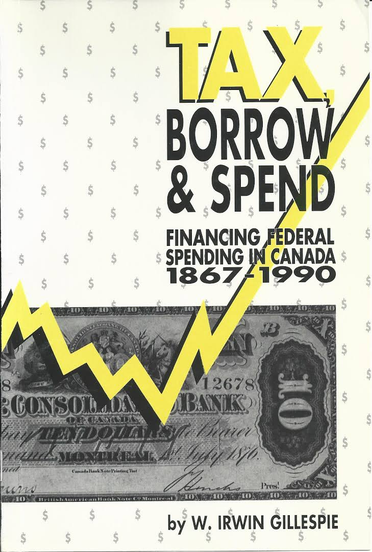 Image result for tax borrow spend irwin