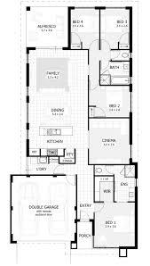 Two Story Floor Plan Pretty Ideas Narrow Lot Homes Perth Western Australia 1 Narrow Two