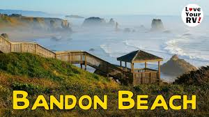 Bandon Oregon Map by Visit To Bandon Oregon Part 3 Day At The Beach Youtube