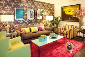 Living Room Designs Pictures Interior Fascinating Colorful Living Room Interior Design With