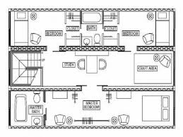 Blueprints Of Homes Creative Designs Blueprints For Container Homes 6 25 Shipping