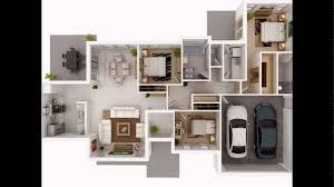 3bedroom apartment house floor plan slide youtube