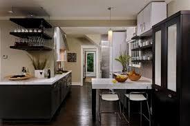 Dark And White Kitchen Cabinets Modern Kitchen Modern Farmhouse Kitchen Dark Cabinets Home In
