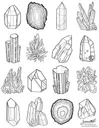 download rocks and minerals coloring pages ziho coloring