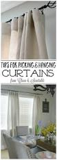 pretty design ideas how to hang curtains stunning decoration how