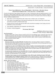 Best Resume Examples Professional by Best Resume For Sales Representative Resume Templates For