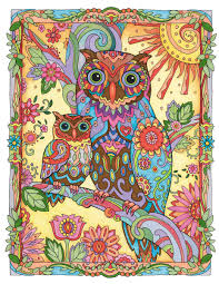owl lovers and colorists worldwide are captivated by this gallery
