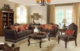 Chocolate Living Room Furniture by Homelegance Catalina Ii Sofa Set Chocolate U5649cn 3