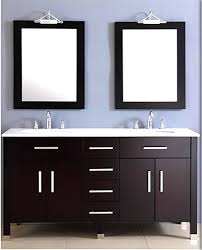 Vanity Units With Drawers For Bathroom by Amazon Com 72 Inch Espresso Double Basin Sink Bathroom Vanity Set