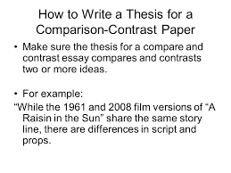Writing a Compare and Contrast Essay  Gr     Printable   th Free Essays and Papers