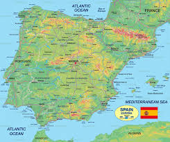 Spain Political Map by Ibiza Spain Map Imsa Kolese