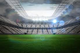 football wall murals sport wallpaper murals wallsauce large football stadium with lights wallpaper mural