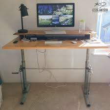diy standing desk legs best home furniture decoration