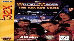 Halloween Havoc 1995 Osw by Wwf Wrestlemania Arcade 1995 Complete Hd لعبة مصارعه لجهاز السيكا